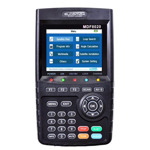 سوفتوير جهاز الاشارة elcomax MDF-8020HD