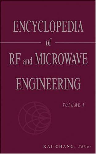 Encyclopedia Microwave Engineering