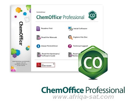 أحدث نسخة لبرنامج ChemOffice Professional