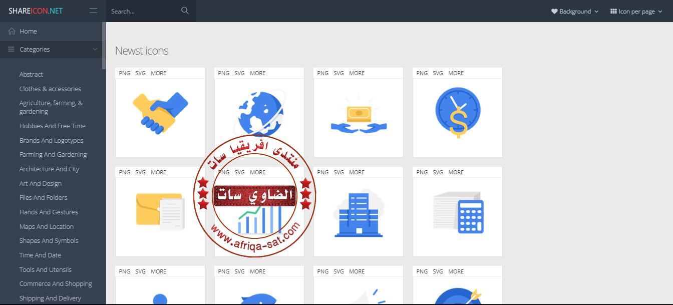 موقع ايقونات للتصميم
