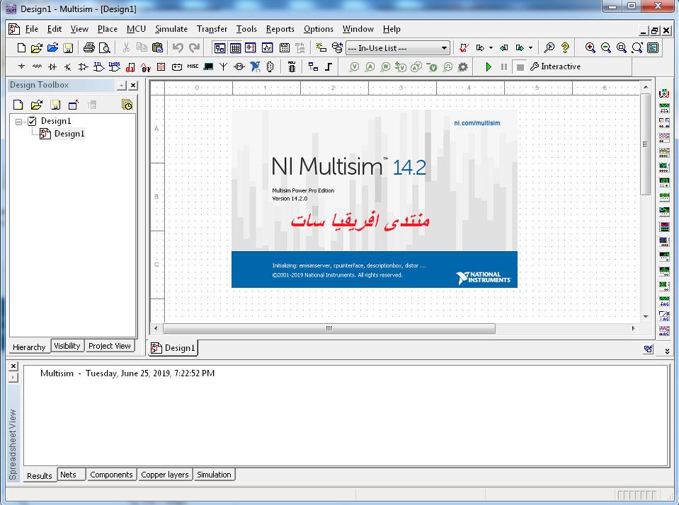 أحدث اصدار لبرنامج Multisim &